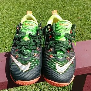 Nike LeBron James XII GS Low Basketball Sneakers.